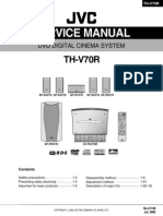 Jvc Th-V70-r Dvd Digital Cinema System 2002 Sm