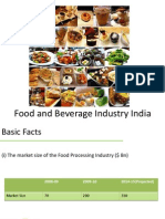 Food and Beverage Industry India