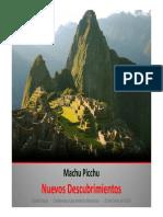 Casa América. Conferencia Machu Picchu