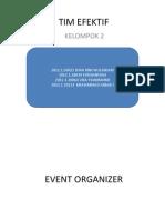 Tim Efektif Manajemen PErubahan & Kepemimpinan