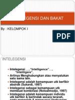 Bakat Dan Intelegensi