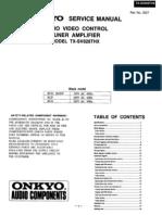Onkyo TX-sv828thx Sm