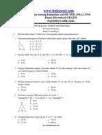 Soal Dan Pembahasan Perbandingan Berbalik Nilai Kelas 7