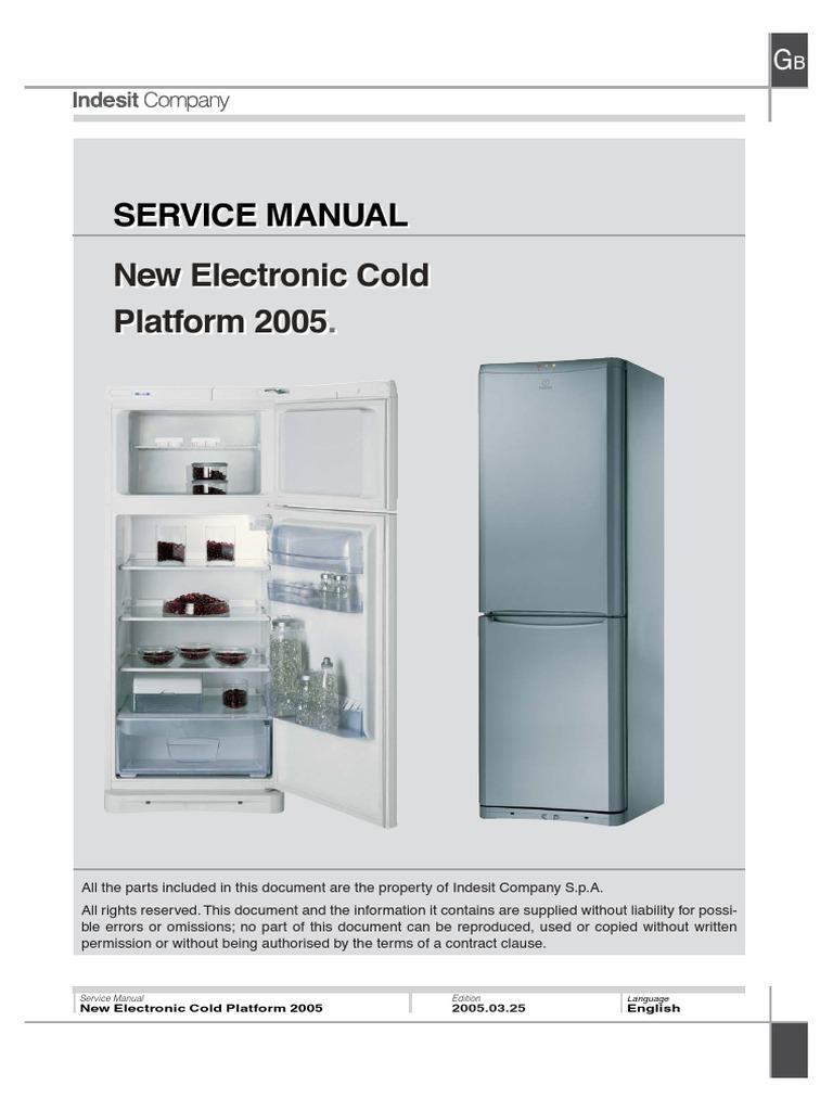 Frigidere Indesit - Manual Service | Refrigerator | RelayScribd