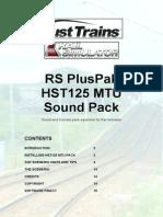 Armstrong PH HST125 MTU Sounds Manual