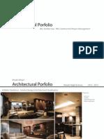 Architectural Portfolio (High Quality)