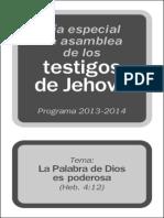 Dia Especial de Asamblea 2013 2014