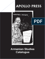 Armenian Studies Catalogue