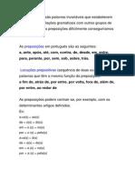 Preposic3a7c3b5es e Locuc3a7c3b5es Prepositivas
