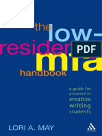 Low-Residency MFA Handbook