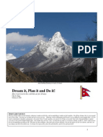 Mt Everest Journal