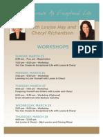 Hay House Agenda 2012