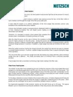 Filter Press Feed System Theory NETZSCH 10-28-2008