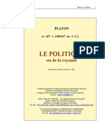 (French) Platon - Le Politique