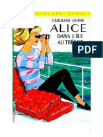 Caroline Quine Alice Roy 19 BV Alice et dans l'Ile au Trésor 1942