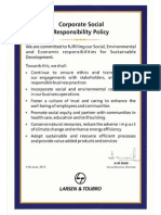 Corporate CSR Policy