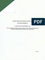 GC Franchise Agreement