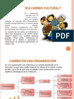 Diapositivas Cambio Cultural