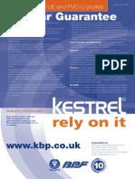 Kestrel Woodgrain Guarantee 2006
