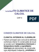 conditii climatice