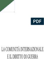 Luigi Sturzo - La comunità internazionale e il diritto di guerra (1928)
