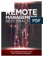 Remote Management Best Practices