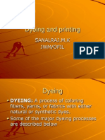 Dyeing and Printing NEW