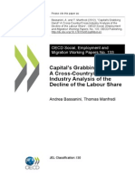 2012. Capital´s Grabbing Hand A Cross-Country-Cross Industry Analysis of the Decline of the Labour Share