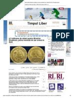 4,5 milioane de dolari pentru Brasher Doubloon, prima monedă de aur emisă în SUA _ Romania Libera