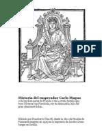 Historia de Carlo Magno y los doce pares de Francia