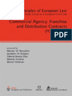 European Law - Franchise and Distribution Contracts