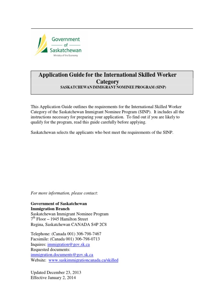 Application guide for international skilled workers category application guide for international skilled workers category apprenticeship permanent residence united states aiddatafo Image collections