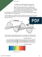 VHF Signal Propagation