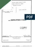 Deposition of Daniel Terronez in Fatal Shooting of Albert Gutierrez