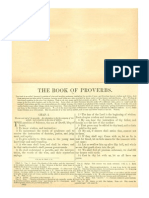 Douay Rheims Bible (The Book of Proverbs) with Haydock Commentary