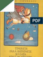 129566403 Tinerete Fara Batranete Si Viata Fara de Moarte de Petre Ispirescu Ilustratii Done Stan