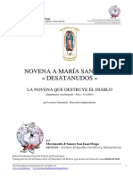 Novena a Maria Desatanudos