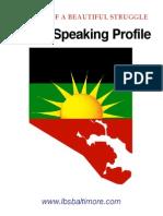 LBS Public Speaking Profile