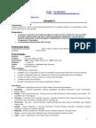 Resume Srikanth