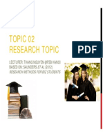 T02 Research Topic