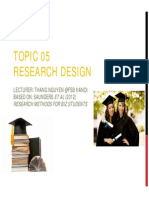 T05 Research Design