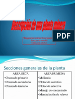 Descripcion Planta Minera