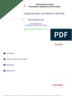 Abntex2 Modelo Slides
