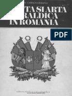 Dan Cernovodeanu Stiinta Si Arta Heraldica in Romania Bucuresti 1977