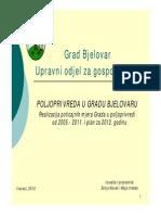 Grad Bjelovar Poljoprivreda