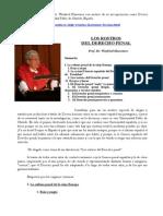 Los Rostros Del Derecho Penal- Winfried Hassemer