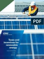 KPMG - Taxes Incentives Renewable Energy (2012)