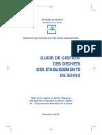 Guide Gestion Dechets Hp Maroc