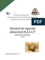 HACCP HACCP Biscuiti Glutenosi