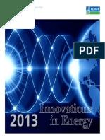 DNV KEMA - Innovations in Energy 2013